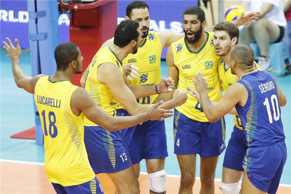 Liga Mundial: Brasil estreia na fase final com vitória sobre aItália