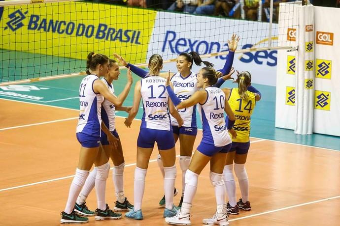 Rexona e Minas garantem vaga na final da CopaBrasil
