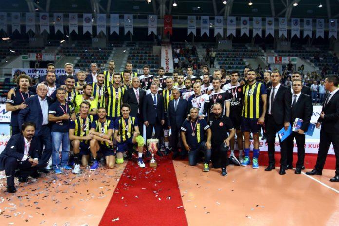 Fenerbahçe vence Halkbank e conquista o título da Supercopa daTurquia