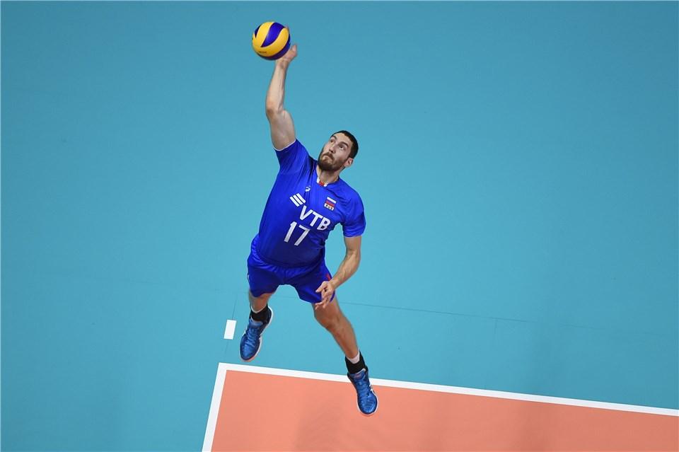 Maxim Mikhaylov eleito MVP da Liga dasNações