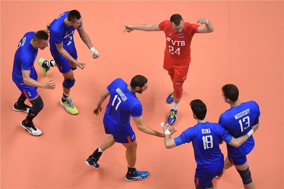 Rússia vence a França e conquista o título da Liga dasNações